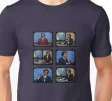 Anchorman - Ron Bergundy - TV Ron Unisex T-Shirt