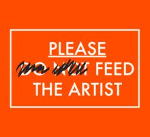 Please Feed the Artist by Mark Barnes