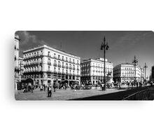 Puerta del Sol - B&W Canvas Print