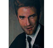 Edward Cullen - Robert Pattinson Portrait Photographic Print