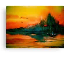 Away To The Woods... Canvas Print