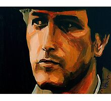 Paul - Paul Newman Portrait Photographic Print