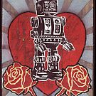 Robot love 1 by William P. Etheridge  Jr.
