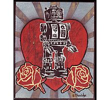 Robot love 1 Photographic Print