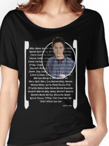 JD girls nick names Women's Relaxed Fit T-Shirt