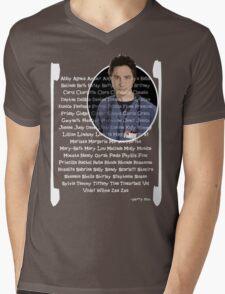 JD girls nick names Mens V-Neck T-Shirt