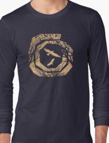 Decca Flight Canvas texture Long Sleeve T-Shirt