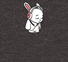 Love Music Cartoon Bunny with headphones Unisex T-Shirt