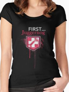 First... [Zombies] Women's Fitted Scoop T-Shirt