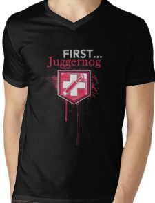 First... [Zombies] Mens V-Neck T-Shirt