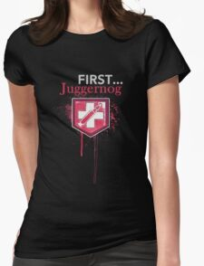 First... [Zombies] Womens Fitted T-Shirt