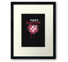 First... [Zombies] Framed Print