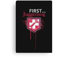 First... [Zombies] Canvas Print