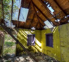 Time Worn but still Colorful in Fox Hill Village, The Bahamas by Jeremy Lavender Photography