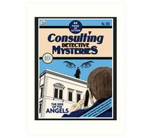Consulting Detective Mysteries Art Print
