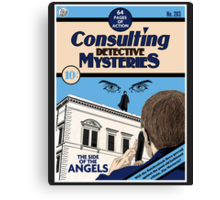 Consulting Detective Mysteries Canvas Print