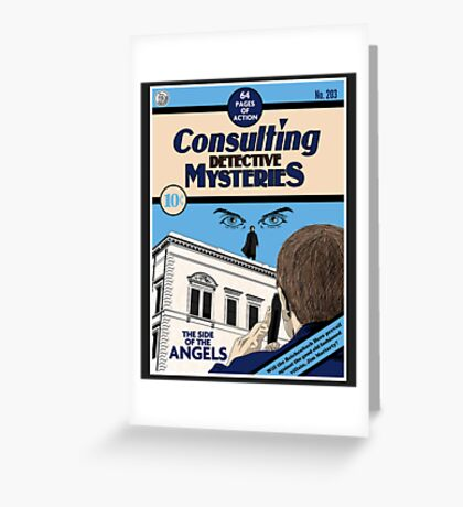 Consulting Detective Mysteries Greeting Card