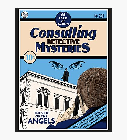 Consulting Detective Mysteries Photographic Print