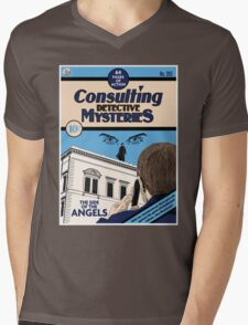 Consulting Detective Mysteries Mens V-Neck T-Shirt