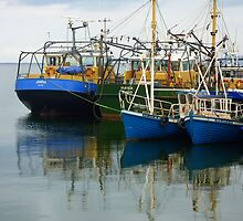 Irish Fishing Boats by Fara