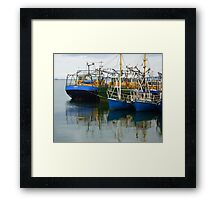 Irish Fishing Boats Framed Print