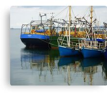 Irish Fishing Boats Canvas Print