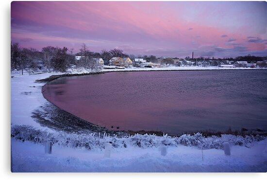 Belt of Venus after the storm ! by Nancy Richard