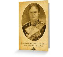 Kaiser Dwight Greeting Card