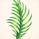 Tropical Leaf III by James McKenzie