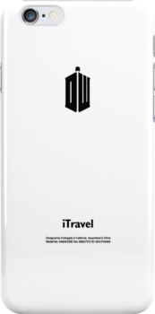 Doctor Who Logo (White Apple Icon Replacement) by huckblade