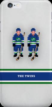 "8-Bit Hockey Stars - ""Twins"" by pootpoot"
