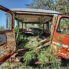 Forgotten Toyota in Fox Hill Village, The Bahamas by Jeremy Lavender Photography