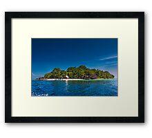 Island of Paradise Framed Print