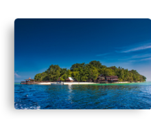 Island of Paradise Canvas Print