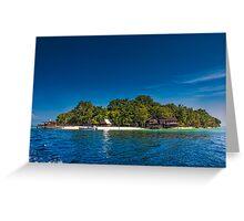 Island of Paradise Greeting Card