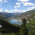 Rocky Mountain Vista by journeyart