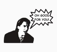 'Oh Good for You!' Christian Bale Design T-Shirt