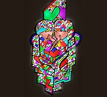 "Stained glass "" You & me"" by centtaro"