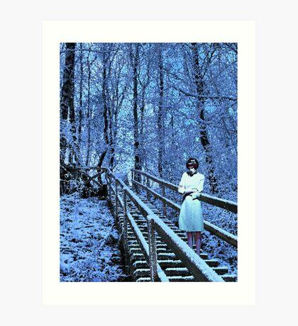 Alice In Wonderland - Loneliness Art Print