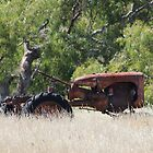Rusted Tractor by Chris Kean