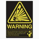 Empire Warning Label STICKER VERSION by RyanAstle