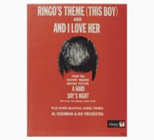 Ringo's Theme And I Love Her by Vintaged