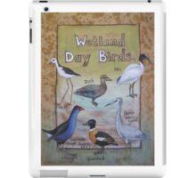 Wetland Day Birds iPad Case/Skin