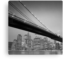 Brooklyn Bridge, Study 6 Canvas Print