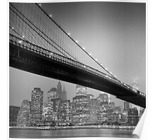 Brooklyn Bridge, Study 6 Poster