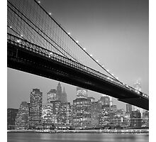 Brooklyn Bridge, Study 6 Photographic Print