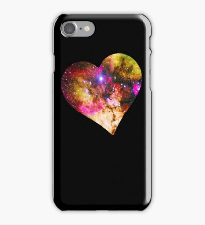 Galaxy Heart Tee One iPhone Case/Skin