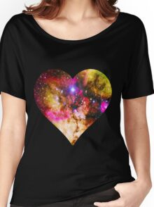 Galaxy Heart Tee One Women's Relaxed Fit T-Shirt