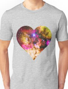 Galaxy Heart Tee One Unisex T-Shirt