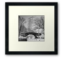 Gapstow Bridge, Study 2 Framed Print